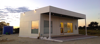 Prefabricated Modular Bank - Cuanga, Angola